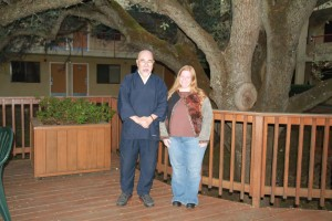 Hyakuten Inamoto-sensei and me in Rosedale, CA where I took Komyo Reiki Shinpiden in 2011.